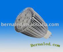 high power Cree XPE/Osram 5x1W led MR16 spotlight(3x1w/3x2w/3x3w/4x1w/5x1w)