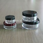3g 5g 10g 20g 30g Clear loose powder jar container