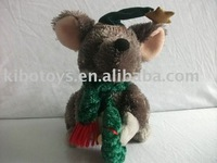 plush toy mouse/Chistmas Mouse toy/Soft plush mouse