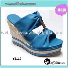 fashion wedge sandals 2012,wedge slipper
