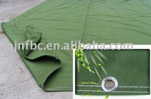 100% pure waterproof cotton canvas for tent and tarps