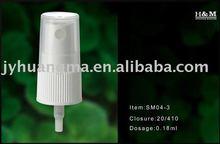 Fine mist spray pump 20/410