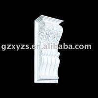 building decorative gypsum /plaster roman pillar