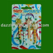 Art Party Candle Set - Animal Design