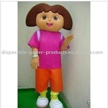 Dora the Explorer Mascot Costume, New Dora Mascot Costume, Free Shipping
