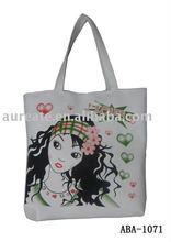 2011 white canvas bag