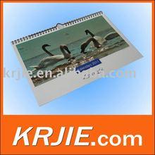 printed calendar 2012