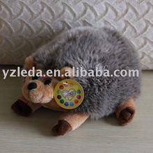 plush hedgehog toy