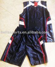 deep blue navy basketball uniform, American and European style