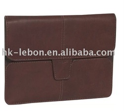 Leather computer bag suitable for IPAD