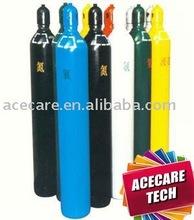 Seamless Steel Cylinder, High Pressure Seamless Steel Gas Cylinder, oxygen cylinder
