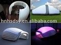 pvc material inflável da barraca