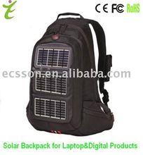 12000mAh solar computer bag