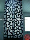 CNC perforated aluminum decorative curtain wall/ column cover
