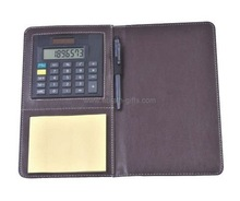 Notebook Calculator with Pen & Paper pad