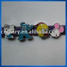Fashion Enamel 8mm slider charms