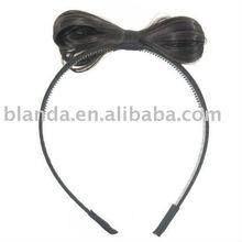 Fashionable Lady Gaga Wig Bow Headband Hair Band