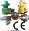 High capacity diesel powered charcoal pellet mill