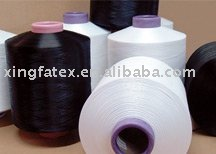 polyester air covered spandex
