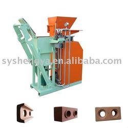 SY-2 Manual Soil Or Soil+Cement Interlocking Bricks And Pavers Machine