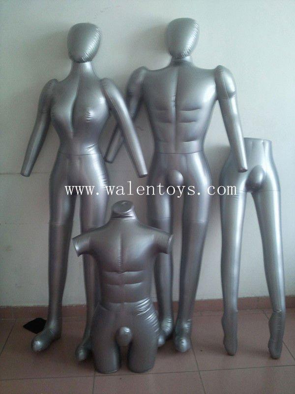 Complet du corps gonflable mannequin