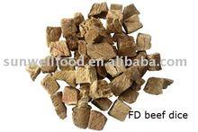 FD beef dice
