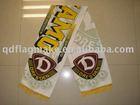 custom football fans scarf/footall scarf