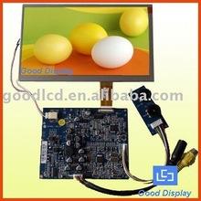dalian good display 7 inch analog lcd car monitor