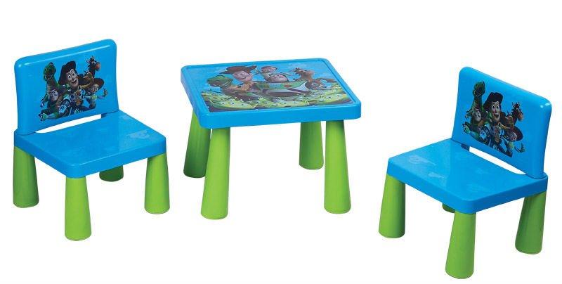 Bambini tavolo e sedie plastica tavolo sedia mobili per - Tavolo contenitore bambini ...