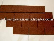 Colorful asphalt shingles(China red)