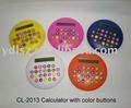 forma redonda mini calculadora