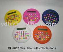 round shape mini calculator