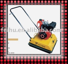 diesel engine 4HP,vibrating plate compactor with foldable handle C-120D