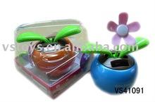 solar apple flower toys
