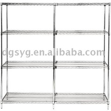 Stainless Steel Chrome Wire Shelving for Industry