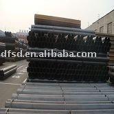 Black ERW round steel tube