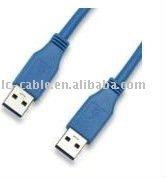 1.5m 3m blue USB3.0 cable