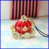 lámpara colgante de oro de la moda encanto encanto joyas