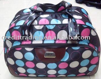 colorful tote bag travel
