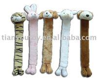 Plush bookmark (tiger & rabbit & dog & bear )