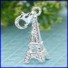 plata encanto torre de joyas colgantes proveedor