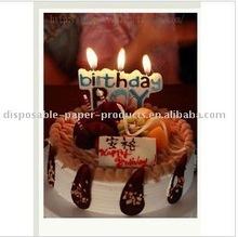birthday boy candle