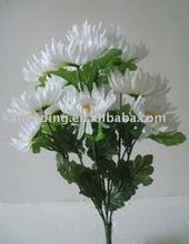 Artificial flower 15-Branch Mum flower bush