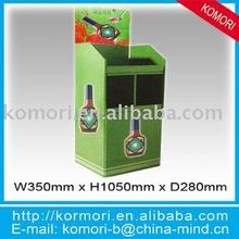 bottled drink pop display stand