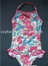 Girl's 1pc swimsuits 2012 new style swimwear