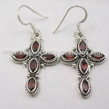 Unique and Elegant Cross Earrings (HSXE0921)