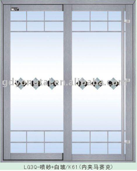Puertas Exteriores de Aluminio y Vidrio Exterior Puertas de Vidrio