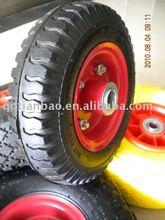 small pneumatic trolley wheels