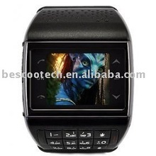 AVATAR ET-1i watch mobile Quadband + 1.3M Camera + Numberic Keypad + FM + Voice Dialling + 1.33 Full touch screen