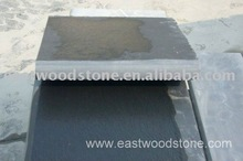 black slate bullnose edges